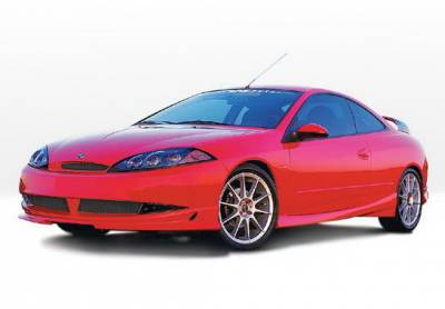 Cougar - Side Skirts - Wings West - Mercury Cougar Wings West W-Type Side Skirts - Left & Right - 890297L&R