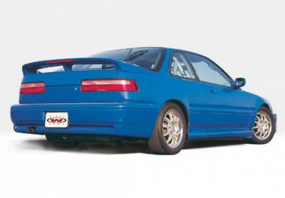 Integra 2Dr - Side Skirts - Wings West - Acura Integra 2DR Wings West Racing Series Side Skirts - Left & Right - 890325L&R