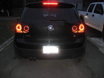 Headlights & Tail Lights - Tail Lights - Custom - Smoked Taillight Overlays