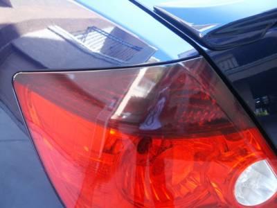 Headlights & Tail Lights - Tail Lights - Custom - Smoked Tail light Top Overlays