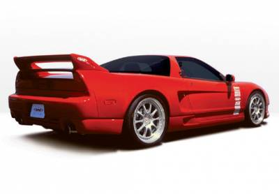 NSX - Side Skirts - VIS Racing - Acura NSX VIS Racing W-Type Right Side Skirt - 890326R