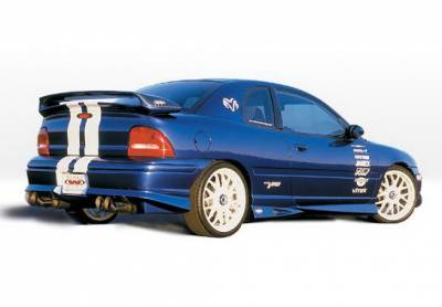 Neon 4Dr - Side Skirts - Wings West - Dodge Neon 4DR Wings West Racing Series Side Skirts - Left & Right - 890338L&R
