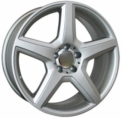 Custom - 18 Inch Hyper Silver - Audi 4 Wheel Package