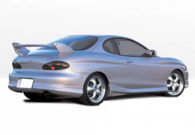 Tiburon - Side Skirts - Wings West - Hyundai Tiburon Wings West W-Type Side Skirts - Left & Right - 890367L&R