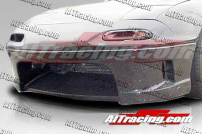Miata - Front Bumper - AIT Racing - Mazda Miata AIT Racing Wize Style Front Bumper - MM90HIWIZFB