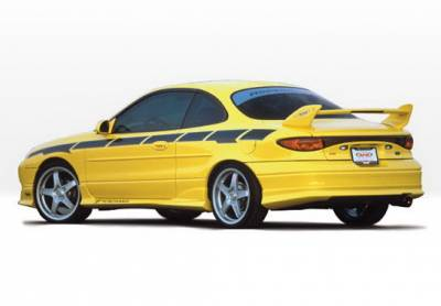 ZX2 - Side Skirts - Wings West - Ford ZX2 Wings West W-Type Side Skirts - Left & Right - 890380L&R