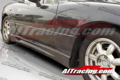 Miata - Side Skirts - AIT Racing - Mazda Miata AIT Racing Wize Style Side Skirts - MM90HIWIZSS