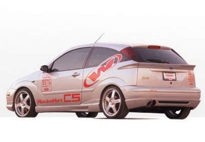 Focus ZX3 - Side Skirts - Wings West - Ford Focus ZX3 Wings West W-Type Side Skirts - Left & Right - 890383L&R