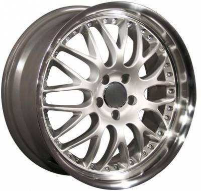 Wheels - Audi 4 Wheel Packages - Custom - 19 Inch BBS Dish Silver - Audi 4 Wheel Package