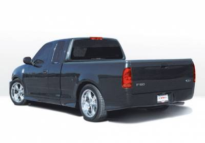 F150 - Side Skirts - Wings West - Ford F150 Wings West W-Type Side Skirts - Left & Right - 890408L&R