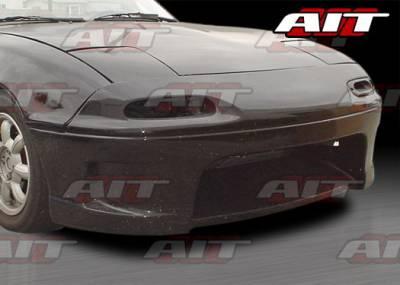 Miata - Front Bumper - AIT Racing - Mazda Miata AIT Racing Wize Style Front Bumper - MM91HIWIZFB