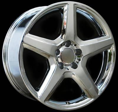 Custom - 18 Inch RS6 Chrome - Audi 4 Wheel Package