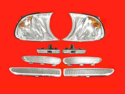 Headlights & Tail Lights - Corner Lights - Custom - M3 only Corner Sidemarker Package
