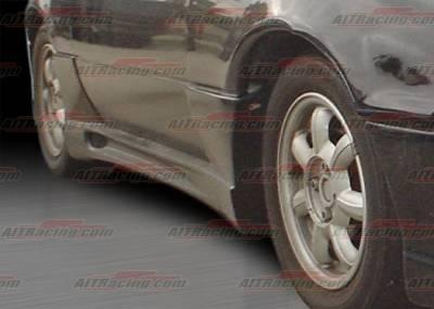 Miata - Side Skirts - AIT Racing - Mazda Miata AIT Racing Wize Style Side Skirts - MM91HIWIZSS