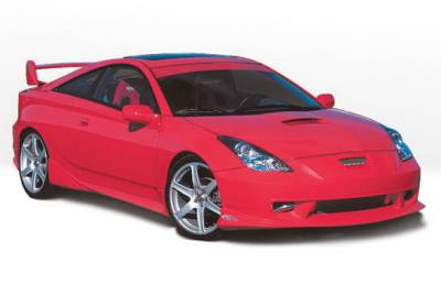 Celica - Side Skirts - Wings West - Toyota Celica Wings West W-Type Side Skirts - Left & Right - 890468L&R