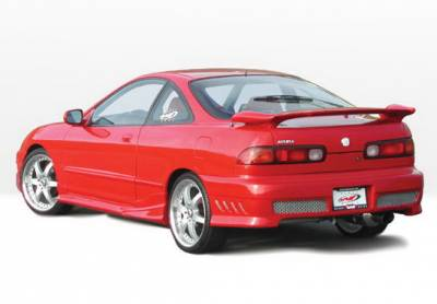 Integra 2Dr - Side Skirts - Wings West - Acura Integra 2DR Wings West Tuner II Side Skirts - Left & Right - 890511L&R