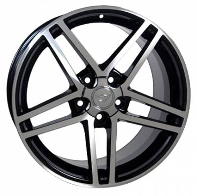 Wheels - GM 4 Wheel Package - Custom - Z06 Style Wheel - GM Staggered 4 Wheel Package