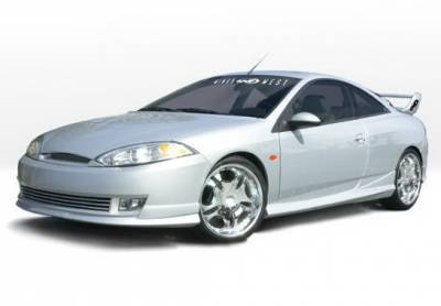 Cougar - Side Skirts - Wings West - Mercury Cougar Wings West W-Type Side Skirts - Left & Right - 890521L&R