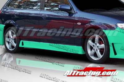 Protege - Side Skirts - AIT Racing - Mazda Protege AIT Racing Zen Style Side Skirts - MP01HIZENSS