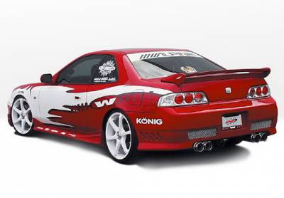 Prelude - Side Skirts - Wings West - Honda Prelude Wings West Tuner Type II Side Skirts - Left & Right - 890546L&R