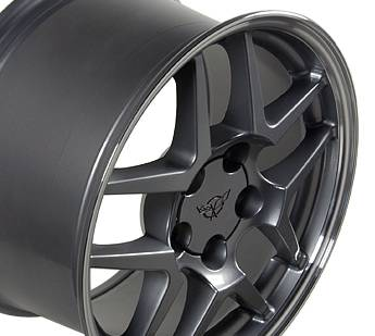 Wheels - GM 4 Wheel Package - Custom - Z06 C4 Style Wheel - GM 17 Inch 4 Wheel Package