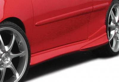 Cavalier 2Dr - Side Skirts - Wings West - Chevrolet Cavalier 2DR Wings West Tuner II Side Skirts - Left & Right - 890585L&R