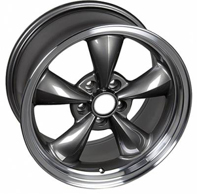 Wheels - Mustang Wheels - Custom - Bullet Style Wheel Argent - Mustang 18 Inch 4 Wheel Package