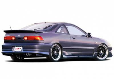 Integra 2Dr - Side Skirts - Wings West - Acura Integra 2DR Wings West G5 Series Side Skirts - Left & Right - 890621L&R