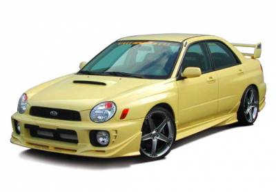 WRX - Side Skirts - Wings West - Subaru WRX Wings West W-Type Side Skirts - Left & Right - 890699L&R