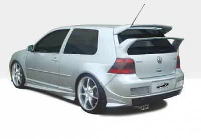 Golf GTi - Side Skirts - Wings West - Volkswagen Golf GTI Wings West G-Spec Side Skirts - Left & Right - 890711L&R