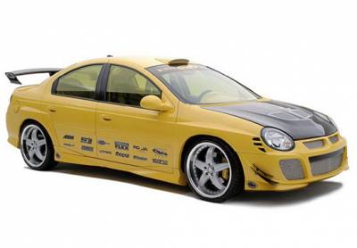 Neon 2Dr - Side Skirts - Wings West - Dodge Neon Wings West Racing Series Side Skirts - Left & Right - 890797L&R
