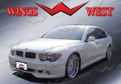 CHROME Pillar Posts for BMW 7-Series 02-08 E65 E66 6pc Set Door Cover Trim