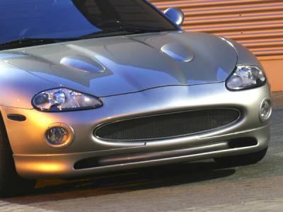 Headlights & Tail Lights - Fog Lights - Custom - Chrome Fog Light Surrounds  - Painted