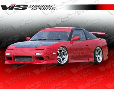 240SX - Side Skirts - VIS Racing - Nissan 240SX VIS Racing G-Speed Side Skirts - Polyurethane - 89NS2402DGSP-004P