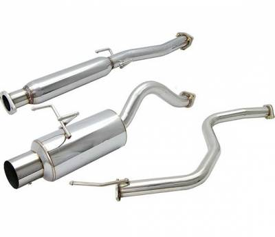 Exhaust - Custom Fit Exhaust - 4 Car Option - Honda Civic 2DR & 4DR 4 Car Option Cat-Back Exhaust System with Stainless Steel Tip - MUX-HC964