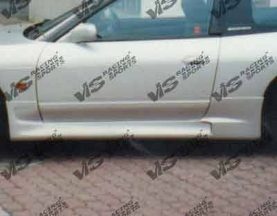 240SX - Side Skirts - VIS Racing - Nissan 240SX VIS Racing Techno R Side Skirts - 89NS2402DTNR-004