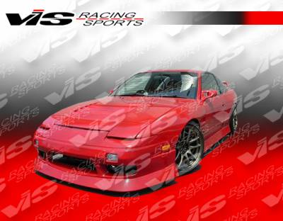 240SX - Side Skirts - VIS Racing - Nissan 240SX VIS Racing V Spec-4 Side Skirts - 89NS2402DVSC4-004