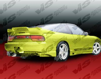 S13 - Side Skirts - VIS Racing - Nissan S13 VIS Racing Invader Side Skirts - 89NSS132DINV-004