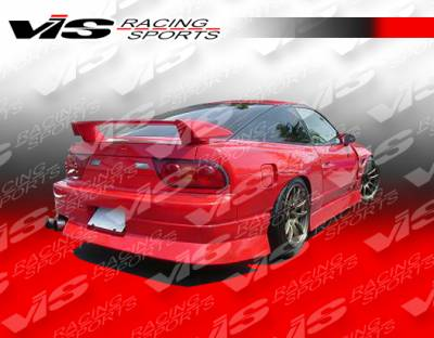 S13 - Side Skirts - VIS Racing - Nissan S13 VIS Racing V-Spec Type-4 Side Skirts - 89NSS132DVSC4-004