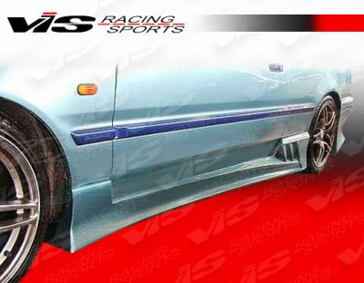 Integra 2Dr - Side Skirts - VIS Racing - Acura Integra 2DR VIS Racing V Speed Side Skirts - 90ACINT2DVSP-004