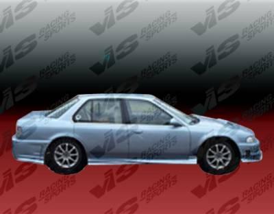 Accord 4Dr - Side Skirts - VIS Racing - Honda Accord 4DR VIS Racing Xtreme Side Skirts - 90HDACC4DEX-004
