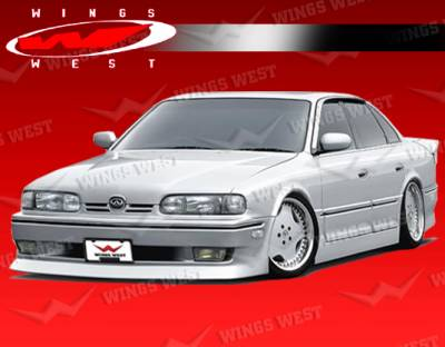 Q45 - Side Skirts - VIS Racing - Infiniti Q45 VIS Racing JPC Side Skirts with Door Panels - 90INQ454DJCP-004