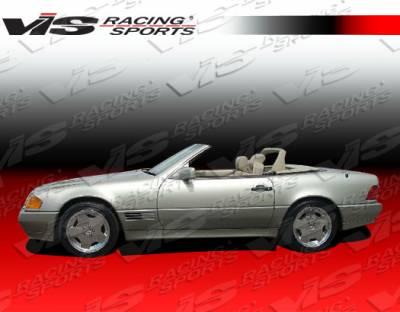 SL - Side Skirts - VIS Racing - Mercedes-Benz SL VIS Racing Euro Tech Side Skirts - 90MER1292DET-004