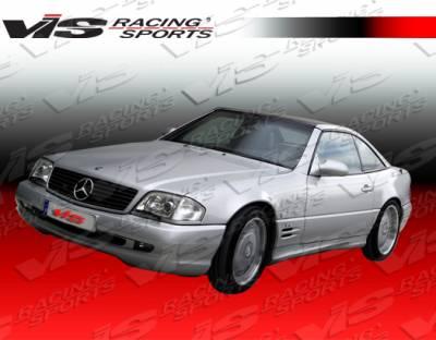 SL - Side Skirts - VIS Racing - Mercedes-Benz SL VIS Racing Euro Tech-2 Side Skirts - 90MER1292DET2-004