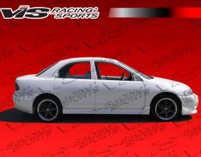 Protege - Side Skirts - VIS Racing - Mazda Protege VIS Racing Techno R Side Skirts - 90MZ3234DTNR-004