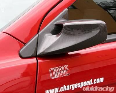 Lancer - Mirrors - Chargespeed - Mitsubishi Lancer Chargespeed Aero Mirror - Pair