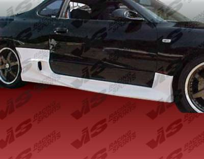 Celica - Side Skirts - VIS Racing - Toyota Celica VIS Racing Invader-2 Side Skirts - 90TYCEL2DINV2-004
