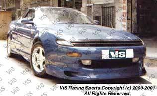 Celica - Side Skirts - VIS Racing - Toyota Celica VIS Racing Zyclone Side Skirts - 90TYCEL2DZYC-004