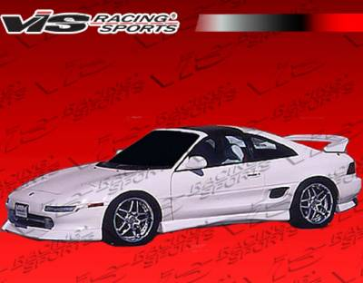 MR2 - Side Skirts - VIS Racing. - Toyota MR2 VIS Racing K Speed Side Skirts - 90TYMR22DKSP-004