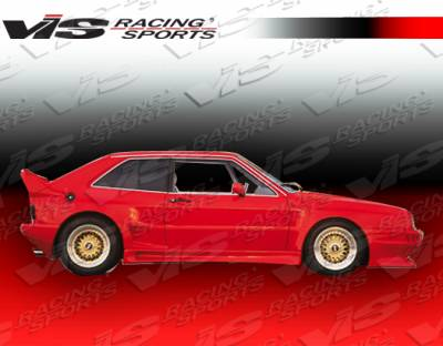 Corrado - Side Skirts - VIS Racing. - Volkswagen Corrado VIS Racing GT Widebody Side Skirts - 90VWCOR2DGTWB-004